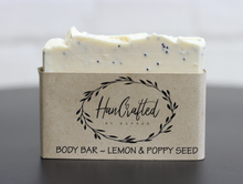Load image into Gallery viewer, HanCrafted by Hannah Lemon & Poppy Seed Soap