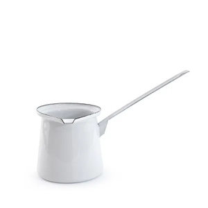 White Enamel Butter Melter