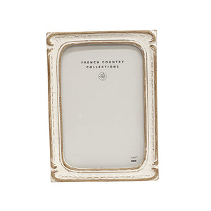 White Wash Rectangle Frame 4x6