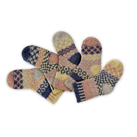 Baby Solmate Socks - Pearl Set of 5