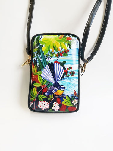 Fantail Rangitoto Cell Phone Bag