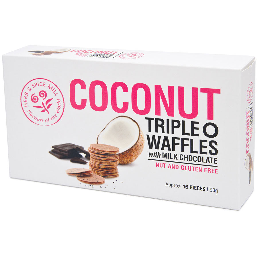 Coconut Triple 'O' Wafers