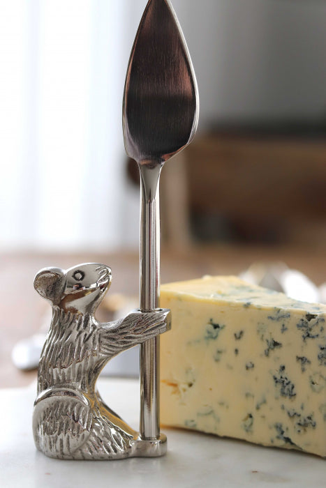 Standing Guard Mouse, Cheese Knife