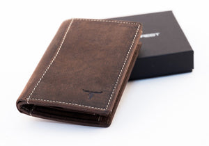 Sundance Leather Wallet - Nappa Brown