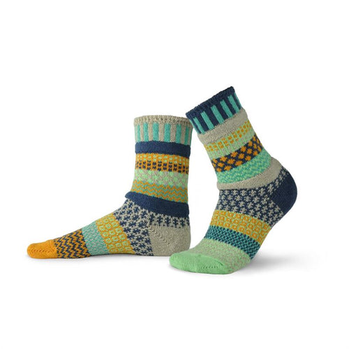Aloe Adult Crew Solmate Socks