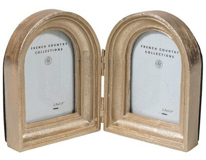 Silver Double Arch Photo Frame