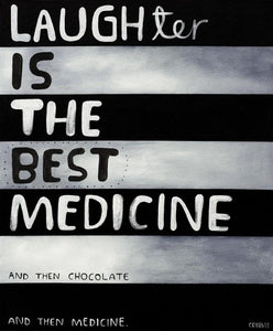 Laughter Is The Best Medecine by Tony Cribb – Artist Series