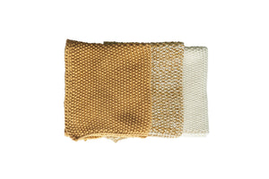 LAVETTE OCHRE WASHCLOTHS - SET OF THREE