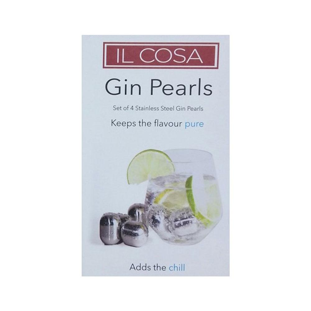 Gin Pearls Set of 4