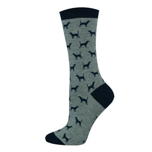 Ditsy Dog Bamboo Sock