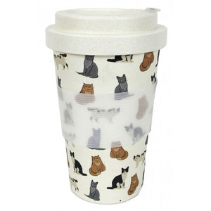 Cat Bamboo Eco Mug