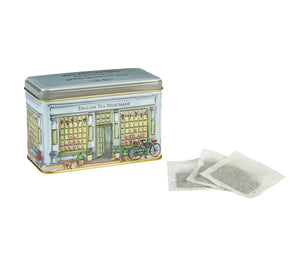 Tea Merchant Shop Tea Tin (40 Tea Bags)