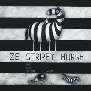 Stripey Horse by Tony Cribb – Artist Series