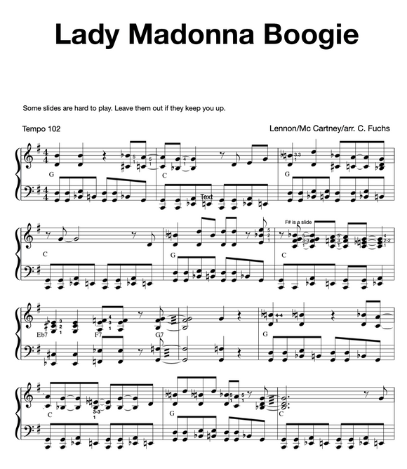 Lady Madonna Boogie