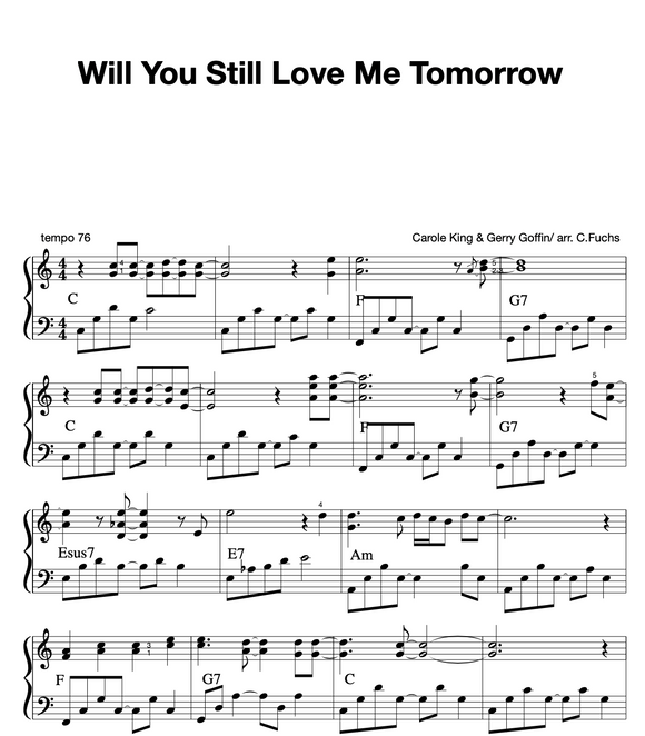 Will You Still Love Me Tomorrow