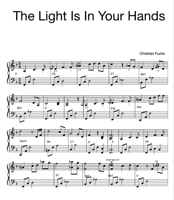 The Light Is In Your Hands