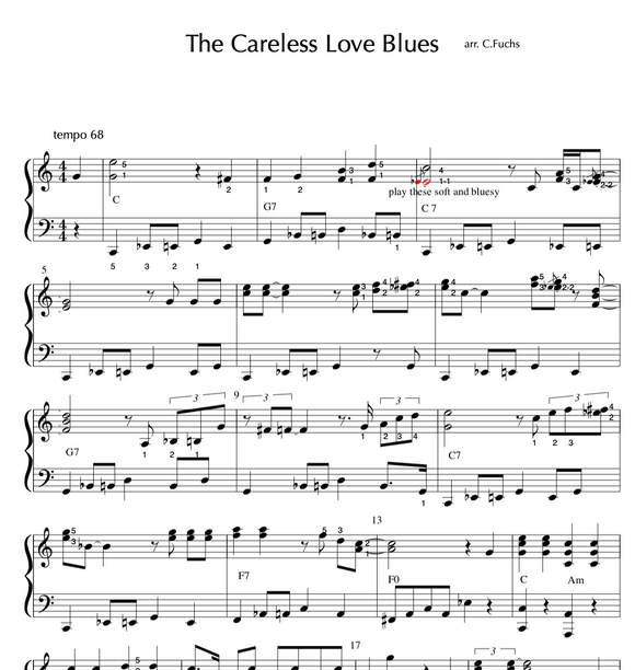Careless Love Blues