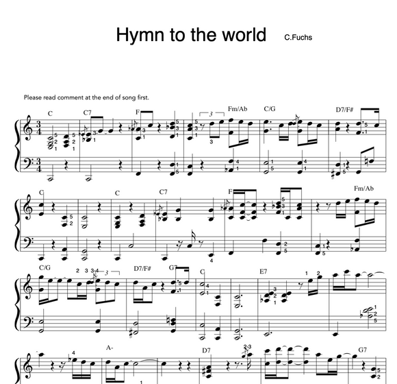 Hymn to the world