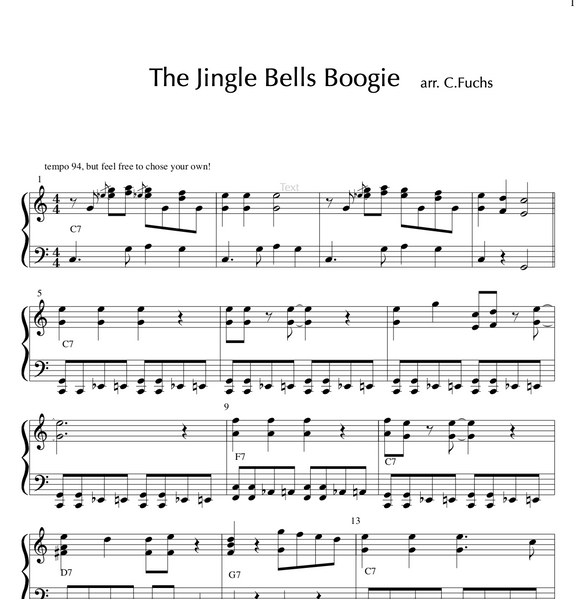 Jingle Bells Boogie
