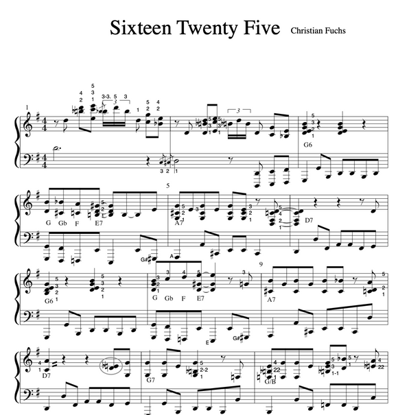 Sixteen Twenty Five