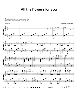 All the flowers for you