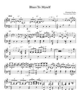 Blues To Myself