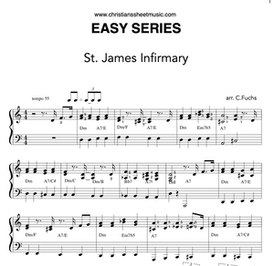 St James Infirmary, EASY SERIES   NEW!