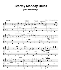 Stormy Monday Blues, intermediate