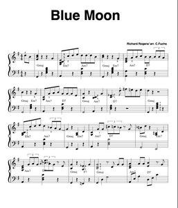 Blue Moon , bluesy cocktail version