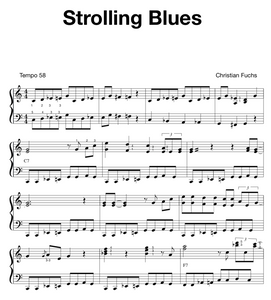 Strolling Blues, slow blues