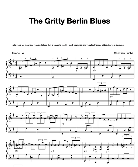 The Gritty Berlin Blues, slow blues
