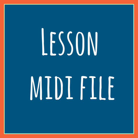 Old School Licks , three lessons in a midi file