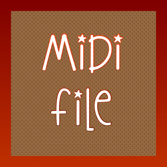 Your Song, midi file
