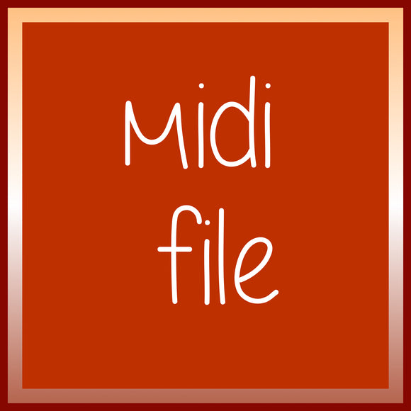 Don't Know Why, midi file