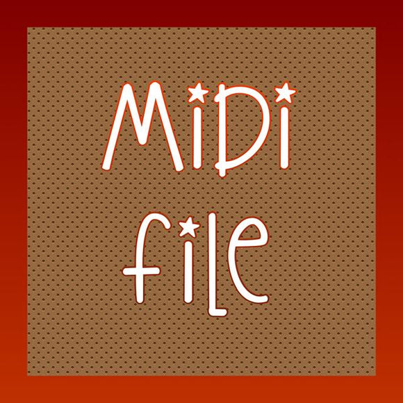 Cry Me A River, midi file