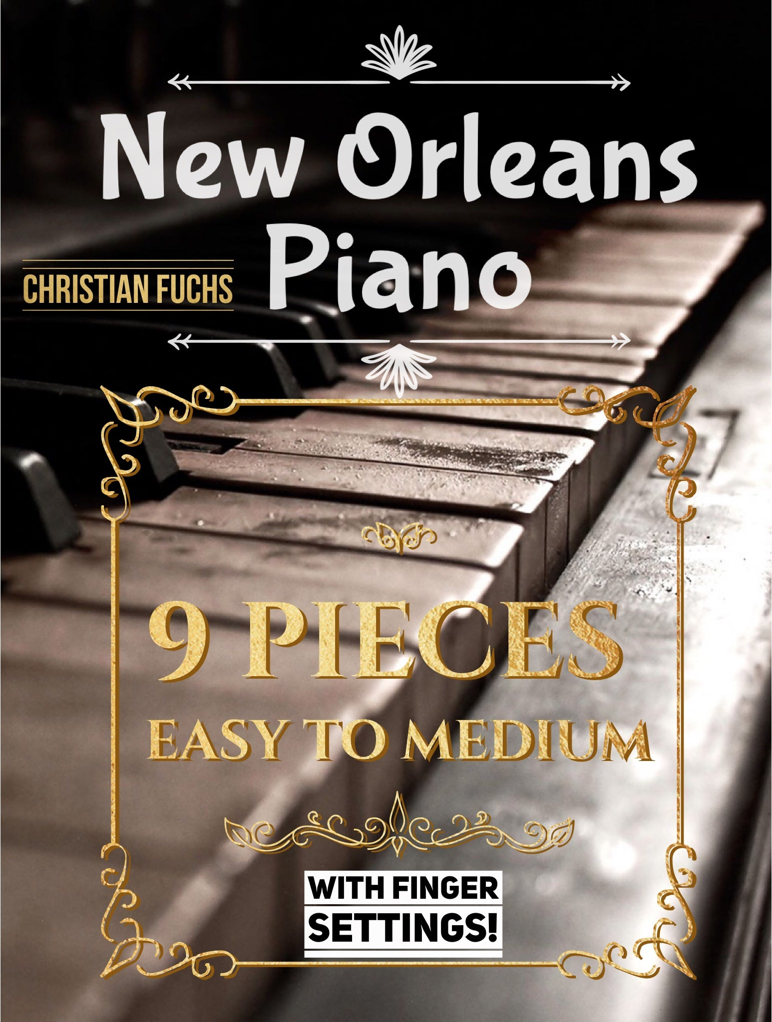 New Orleans Blues Piano, collection of 9 songs plus audio