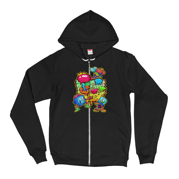The MIX PAX 2018 Hoodie Sweater With Zipper