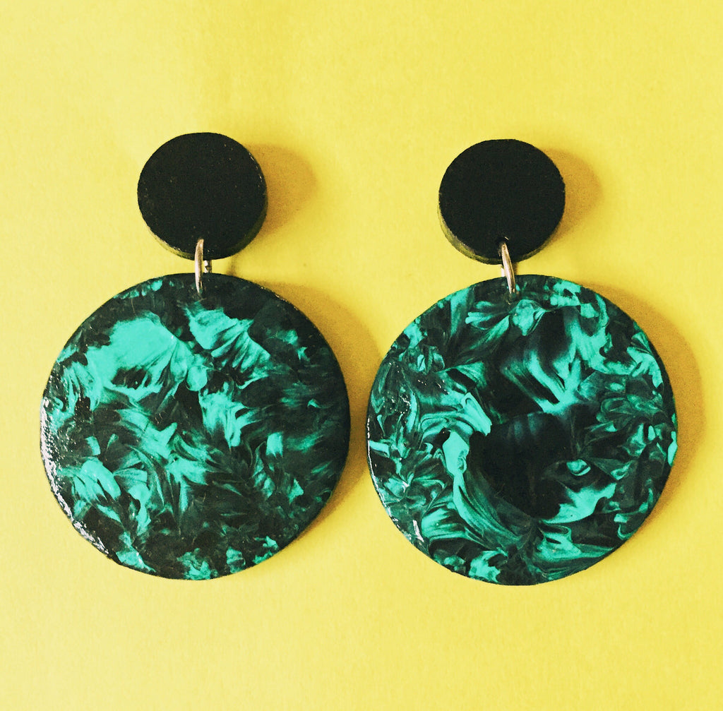'Dancing Free' Statement Earrings