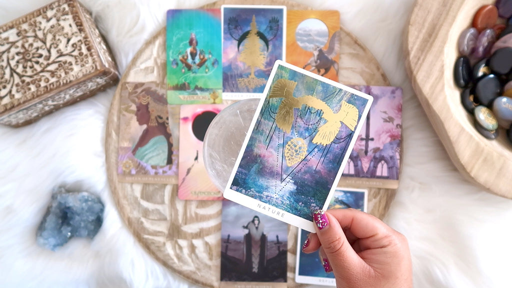 Tarot + Crystal Reading - 60 mins Recorded Video - Up to Eight Questions