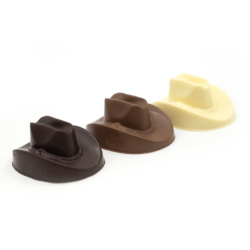 Cowboy Hat, dark chocolate, small