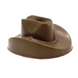 Cowboy Hat, milk chocolate, small