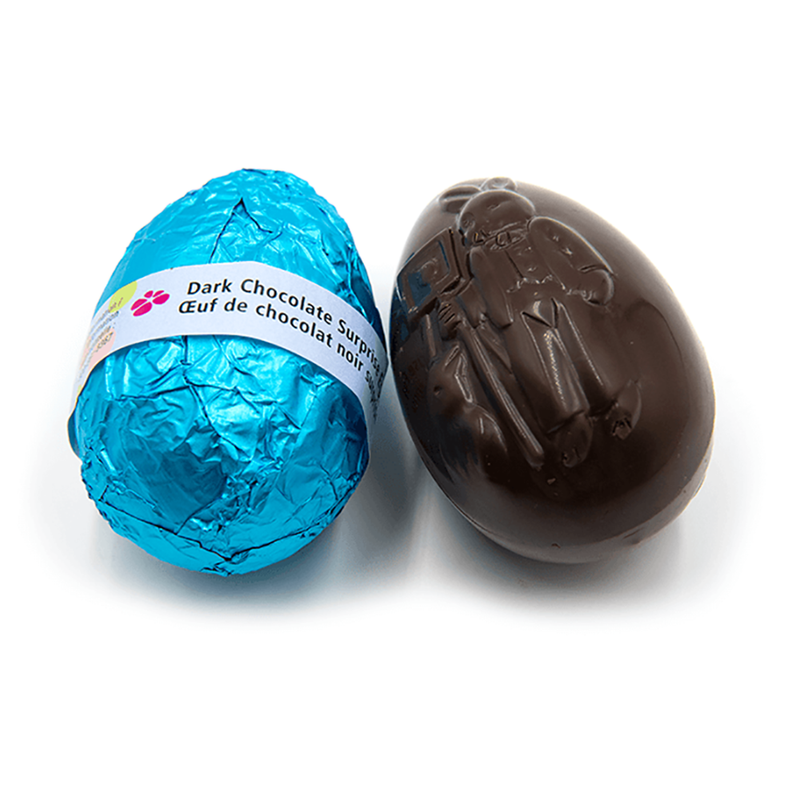 Easter Surprise Egg, dark chocolate