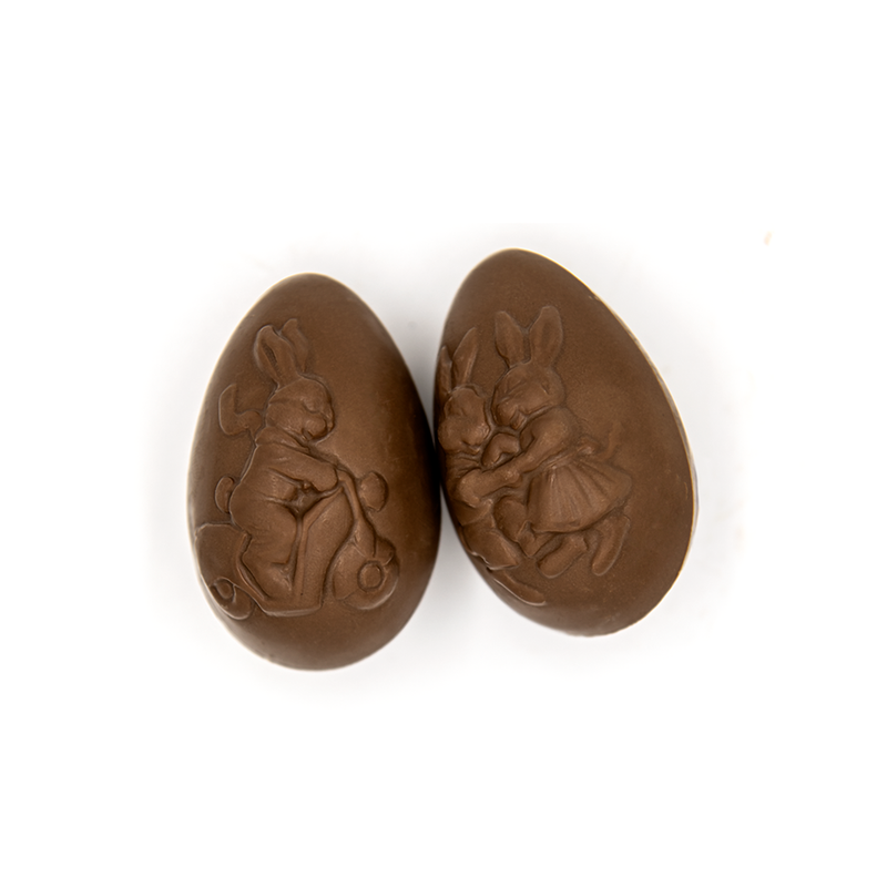 Easter Natural Sized Egg, milk chocolate