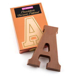 Letters, Solid Milk Chocolate