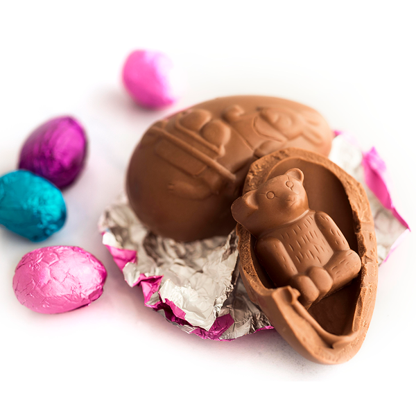 Easter Surprise Egg, milk chocolate