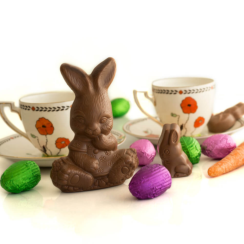 Tiny Easter Bunny, assorted, milk chocolate