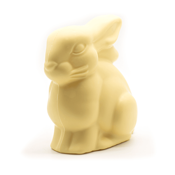 Couverture sustainable white chocolate Cococo Callebaut Easter Bunny