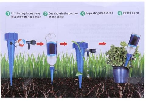 Automatic Plant Watering Spikes