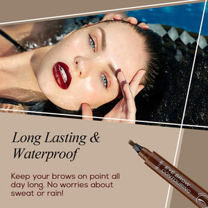 Natural Tattoo Eyebrow Pen - Watch Destination