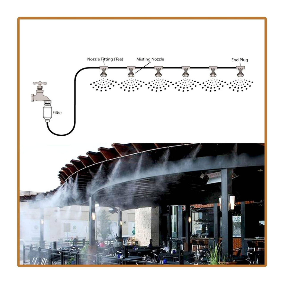 Outdoor Misting & Cooling System - Watch Destination